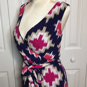 Maxi dress with a beautiful pattern and colors